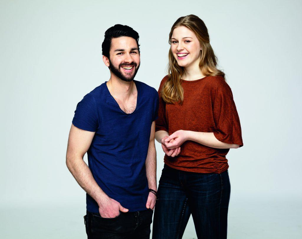 AWO Kampagne 2016 Hasan Othman und Sarah Pöhlmann, 4.3.2016